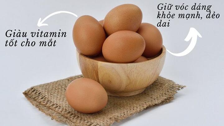 Trứng gà chứa các thành phần dinh dưỡng mang lại nhiều lợi ích cho sức khỏe