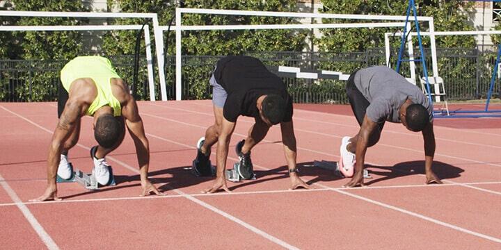 Bài tập tư thế và kỹ thuật xuất phát bổ trợ cho chạy 100m