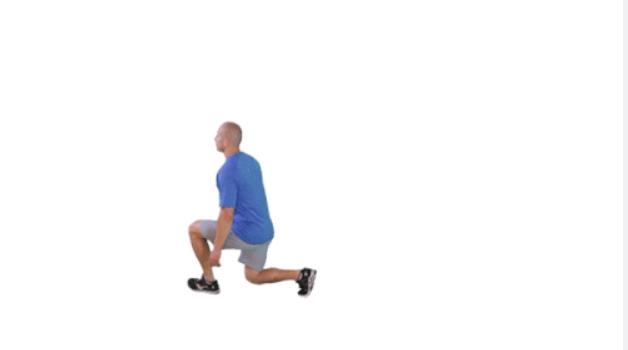 đi bộ gập gối giảm mỡ bụng