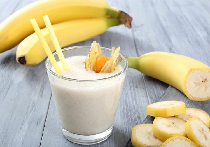 Sinh tố chuối sữa chua thơm ngon, giúp giảm béo hiệu quả