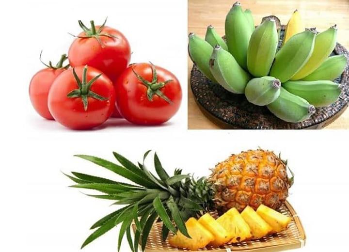 Sử dụng kết hợp các loại quả khác cùng với chuối mang đến trải nghiệm vị giác hấp dẫn