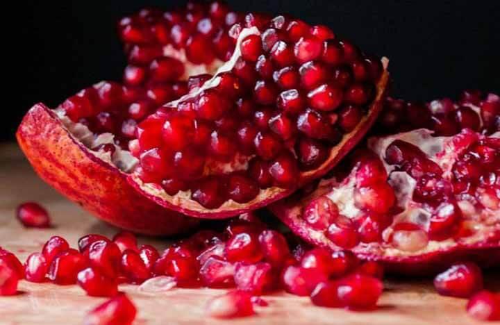 Lựu là trái cây rất tốt cho sức khỏe