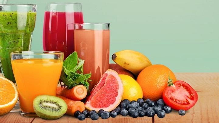 Nước ép nho và bưởi giàu vitamin