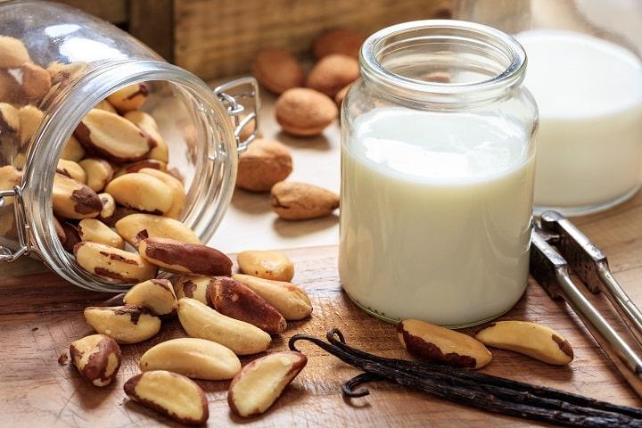 Sữa lạc giàu chất xơ tốt cho sức khỏe