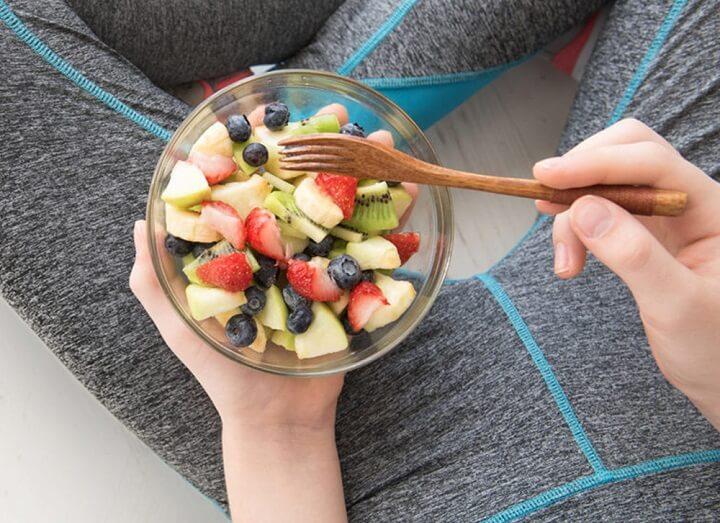 Ăn nhẹ một chút giúp bạn có năng lượng và sức chạy hơn