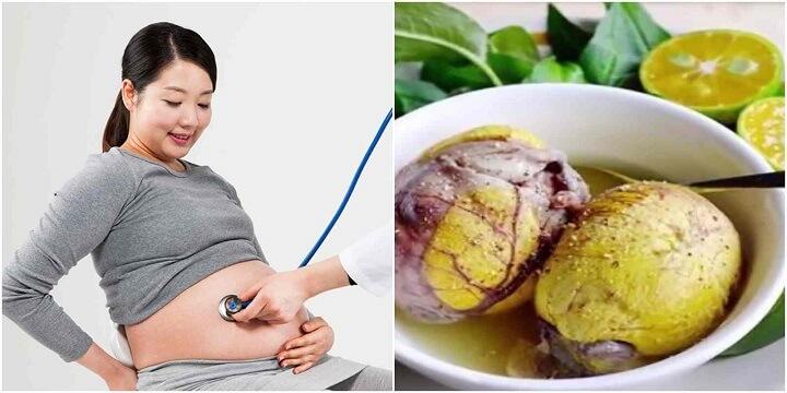 Các mẹ bầu không nên ăn trứng vịt lộn kèm rau răm sẽ ảnh hưởng xấu đến thai nhi