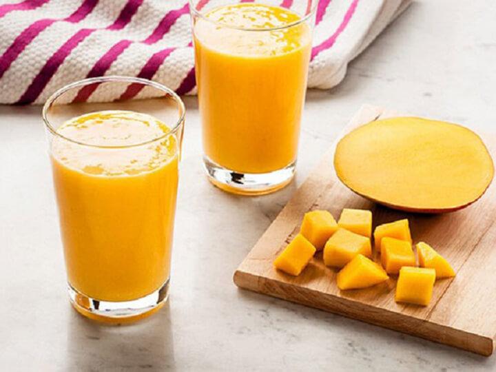 Sinh tố xoài là thức uống bổ dưỡng, hỗ trợ giảm cân nhanh chóng
