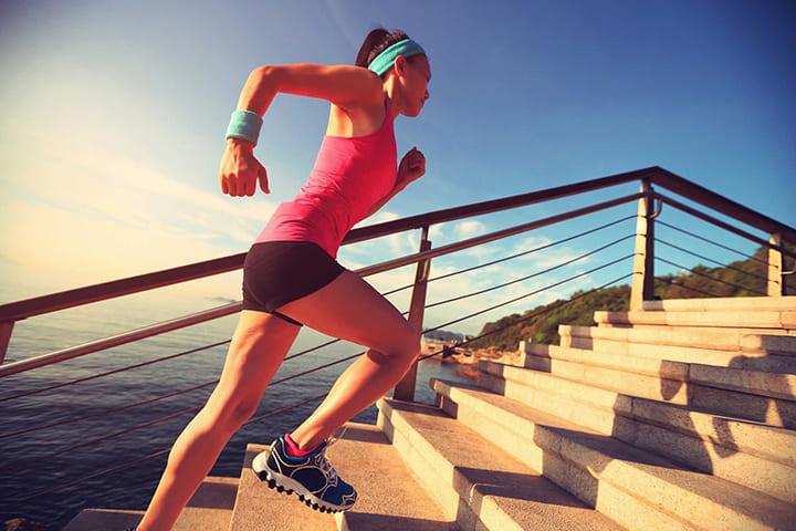 Bài tập leo cầu thang giúp đốt cháy calo, hỗ trợ giảm cân nhanh chóng