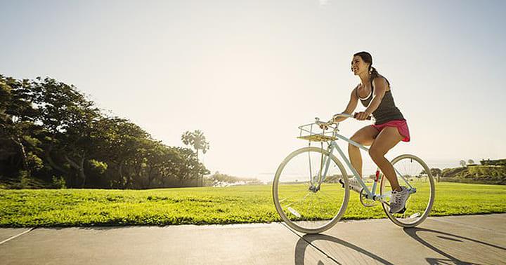 Đạp xe giúp giảm mỡ toàn thân hiệu quả