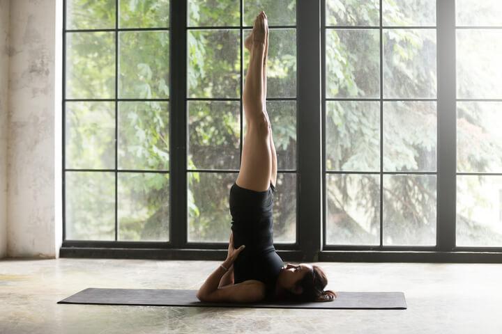 Bài tập cây nến giúp đánh tan mỡ bụng, giảm cân hiệu quả