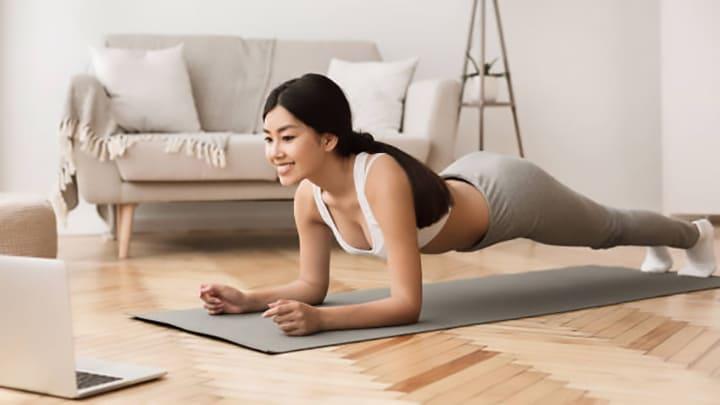 Plank giúp giảm mỡ bụng hiệu quả