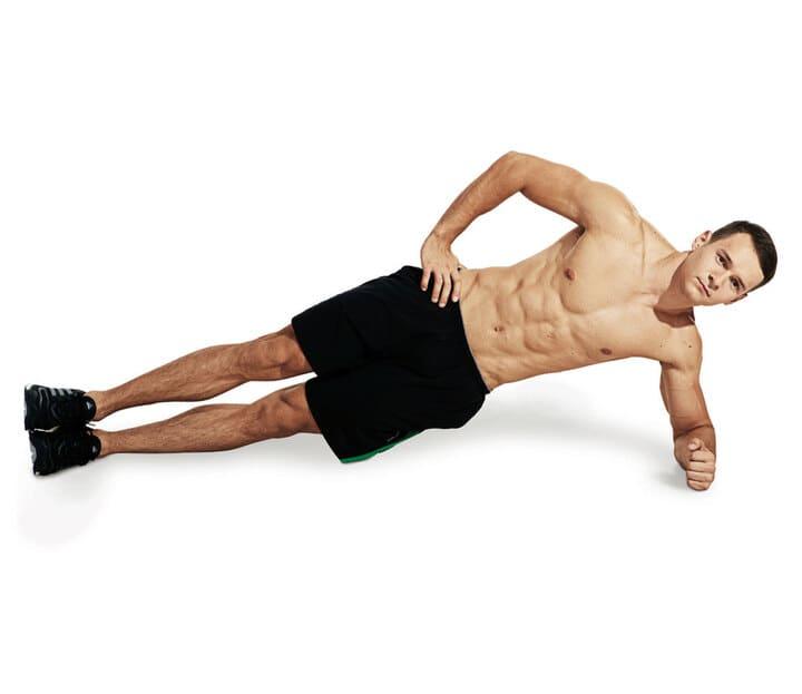 Side Plank là động tác khó, đòi hỏi sự bền bỉ cao