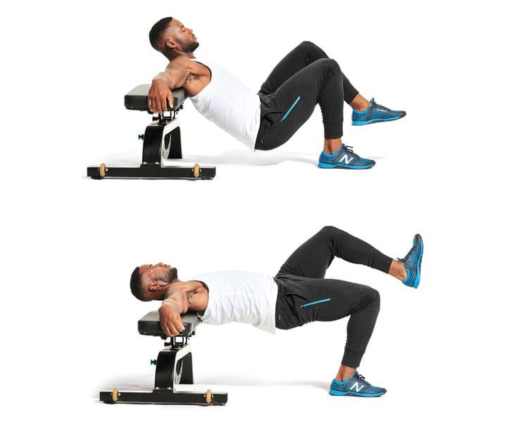 Một động tác tăng cơ toàn thân hiệu quả