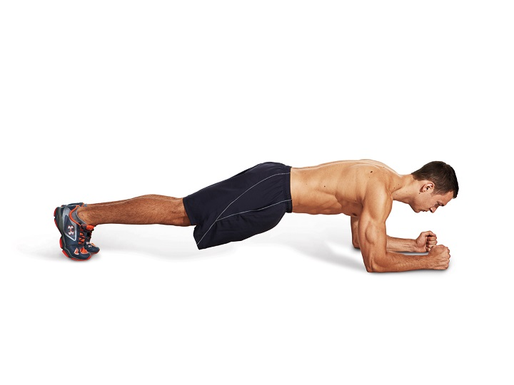 Plank tiêu hao mỡ thừa hiệu quả