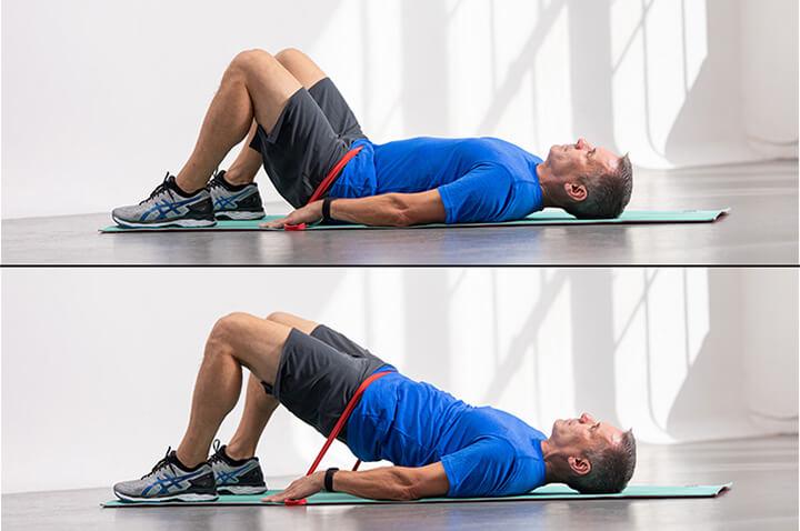 Đốt cháy mỡ thừa vùng bụng dưới hiệu quả với bài tập Hip Thrust