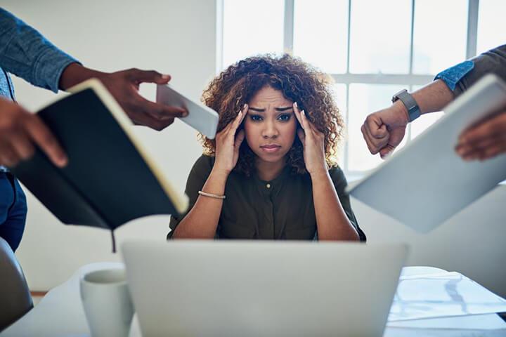 Stress quá độ cũng là nguyên nhân gây tích mỡ bụng dưới