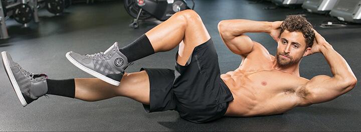 Bài tập Flat Oblique Crunch vừa làm thon gọn vùng bụng vừa giúp cơ đùi săn chắc hơn