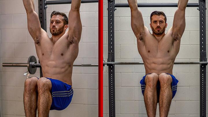 Hướng dẫn cách tập Hanging Knee Raise giúp nam giới giảm mỡ bụng dưới hiệu quả