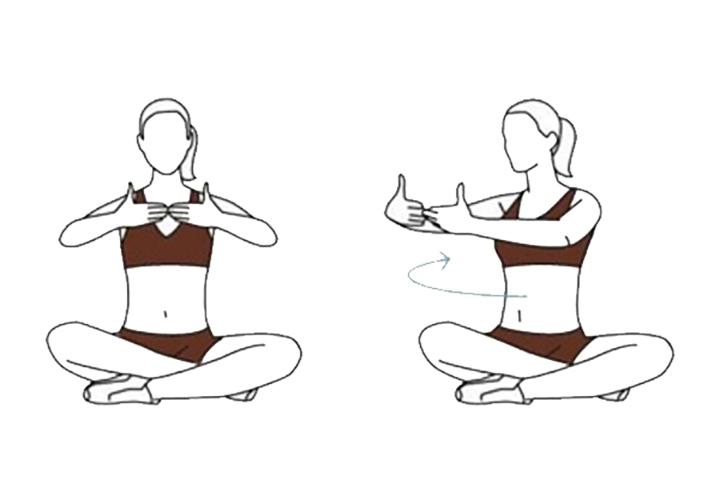 Bài tập ngồi xoay hông giúp giảm mỡ vòng eo hiệu quả