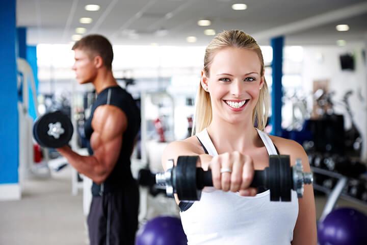 Tập gym mang đến nguồn năng lượng và phát triển cơ bắp hiệu quả