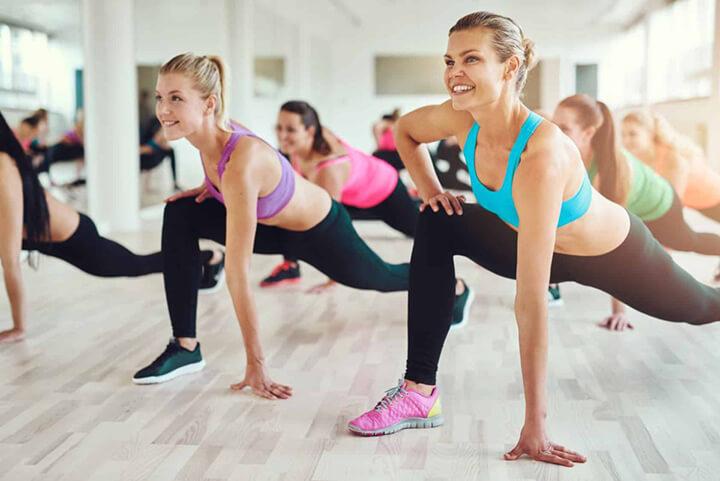 Aerobic là môn thể dục nhịp điệu với giai điệu sôi động, kích thích hưng phấn rất tốt