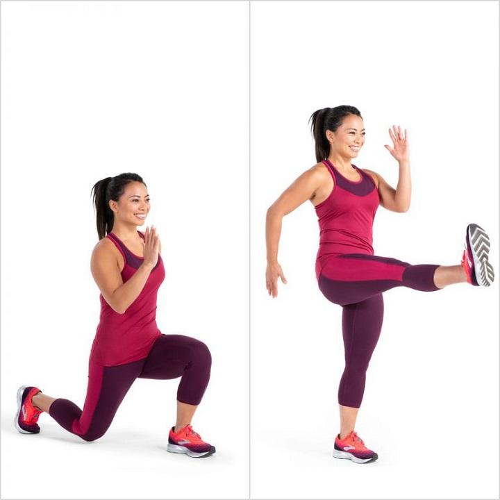 Đá chân cao cho đôi chân thêm săn chắc và khỏe mạnh