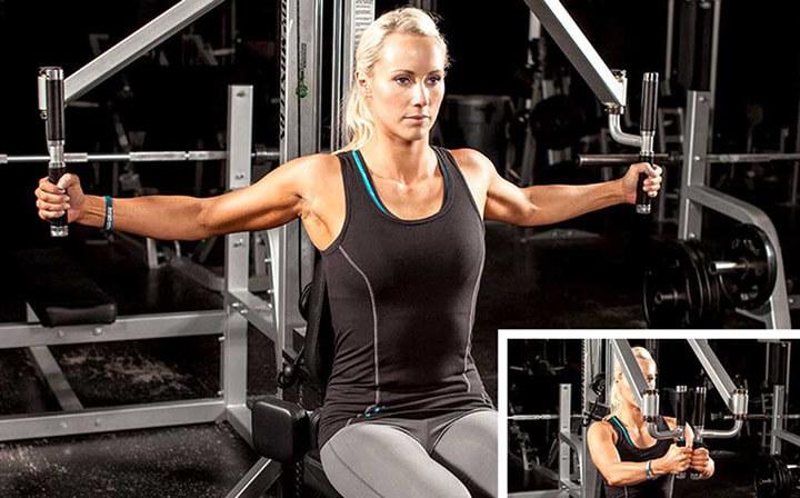Pec ply cũng là 1 bài tập gym tăng kích thước vòng 1 hiệu quả cho nữ giới