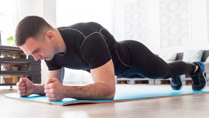 Bài tập plank là một trong những động tác có tác dụng giúp giảm mỡ bụng hiệu quả cho cả nam và nữ