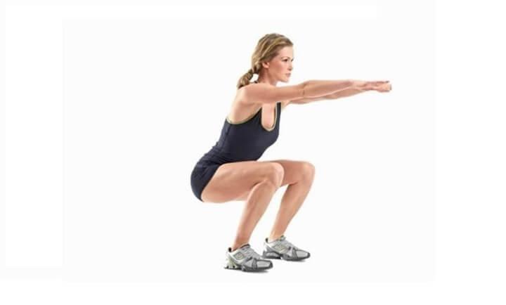 Bài tập Squat tăng hiệu quả giảm cân rõ rệt