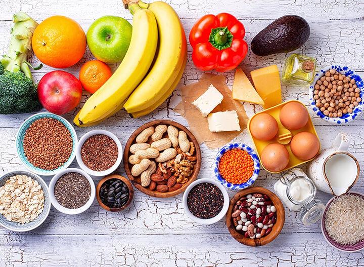 Đảm bảo ăn uống đủ chất, chú trọng thực phẩm giúp phát triển chiều cao