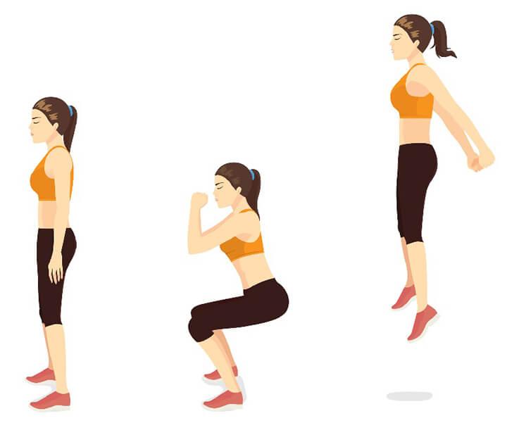 Cách tập Jump Squat chính xác để mang lại hiệu quả