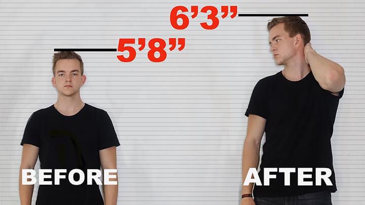 Tập luyện trước khi đi ngủ giúp thúc đẩy chiều cao của bạn