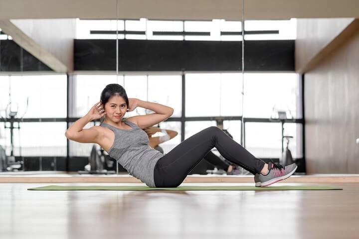 bài tập thể dục giảm mỡ bụng hiệu quả tại nhà
