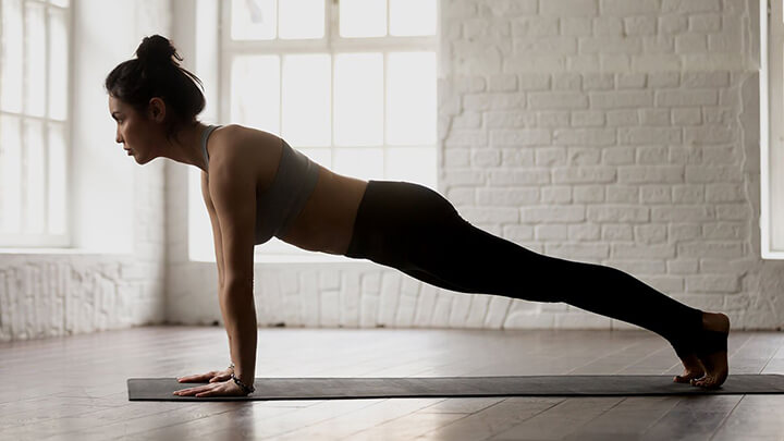 Đốt chạy mỡ thừa bắp tay cực nhanh nhờ bài tập hít đất