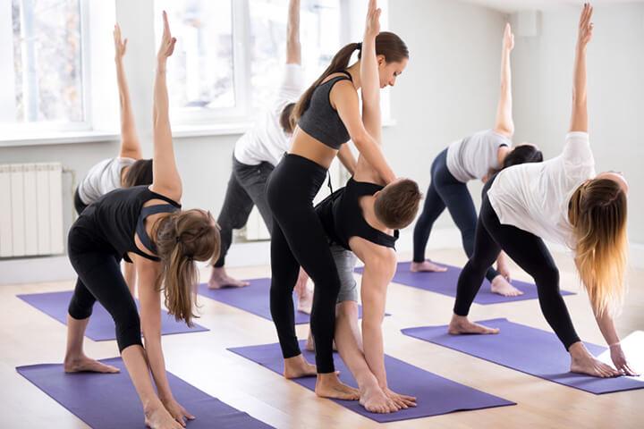 Chú ý cần tập trung tinh thần khi tập Yoga