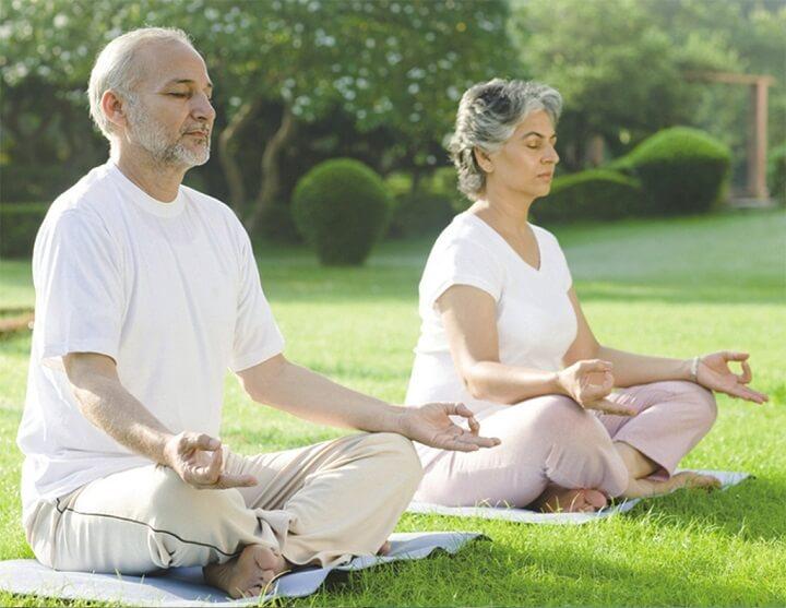 Iyengar yoga là hình thức tập luyện được cho là thích hợp với người già