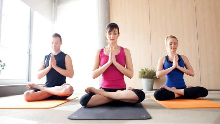 Yoga là phương thuốc trị nhiều chứng bệnh.
