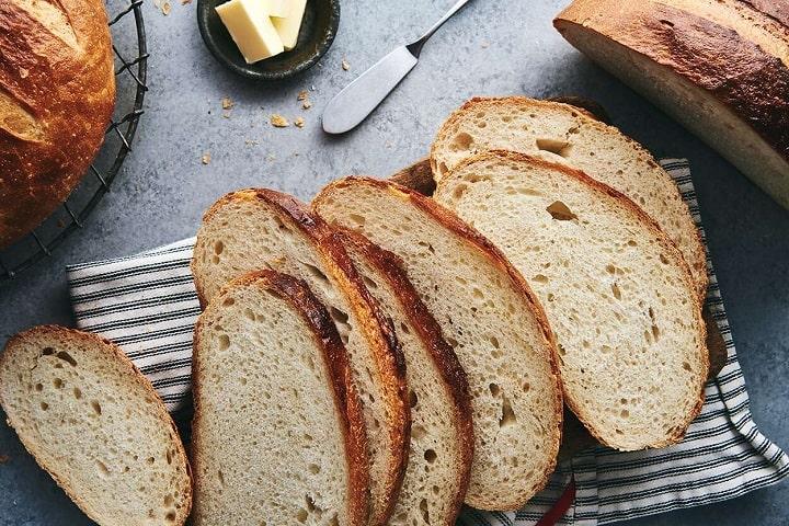 Bánnh mì bột chua được lên men tự nhiên