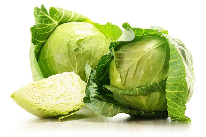 Bắp cải có hàm lượng calo rất thấp, rất tốt cho cho người giảm cân