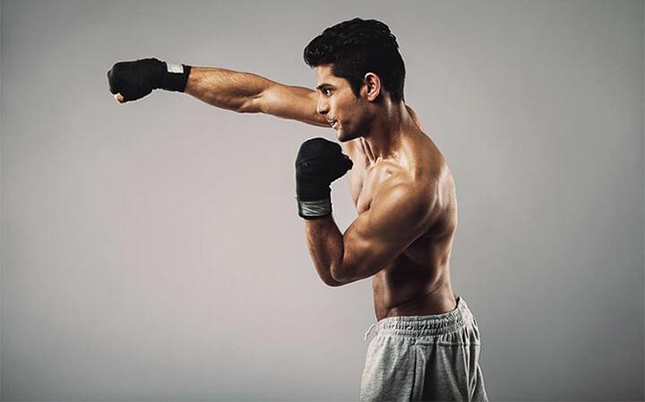 Cơ thể săn chắc hơn nhờ tập boxing