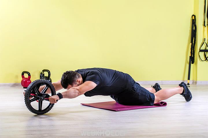 Quá trình kéo căng, đẩy tạ cao nhất ngực sẽ giãn nở
