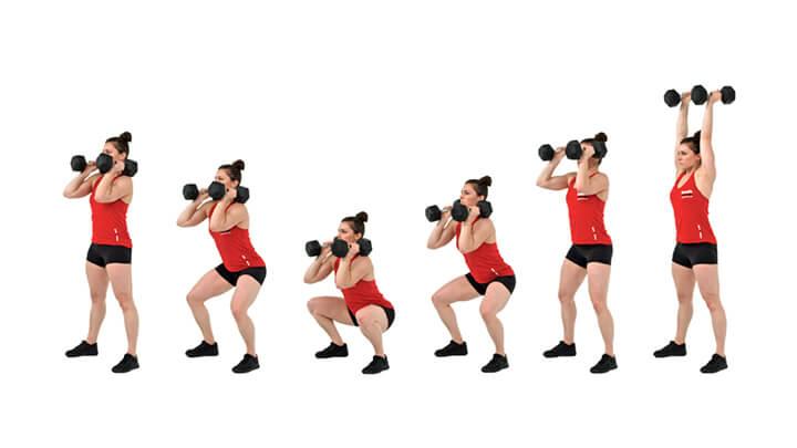 Bài tập kéo và đẩy tạ Snatch giúp phát triển cơ vai trước hiệu quả