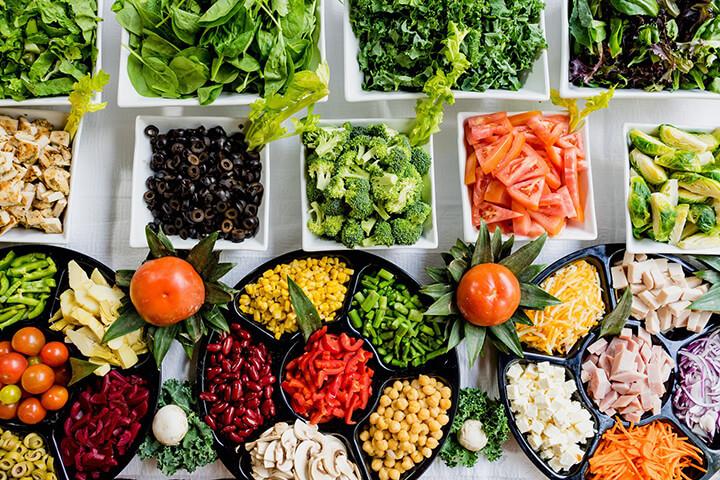 Cần có một chế độ dinh dưỡng cân đối, hài hòacác nhóm chất