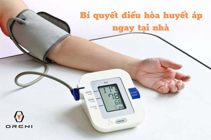 8 Cách điều hòa huyết áp tại nhà tự nhiên, không dùng thuốc