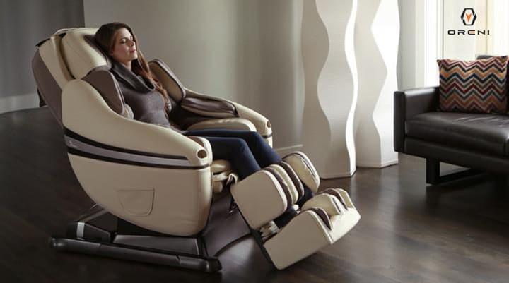 Ghế massage Oreni - Giải pháp chữa mất ngủ hiệu quả