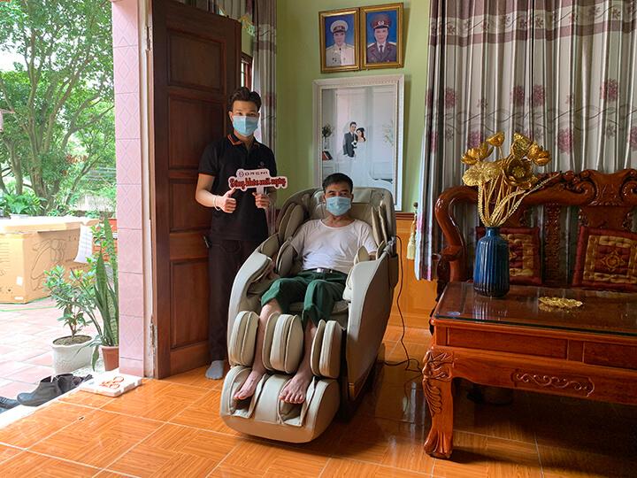 Ghế massage Oreni - Chuyên gia chăm sóc sức khỏe cho 10.000+ gia đình Việt