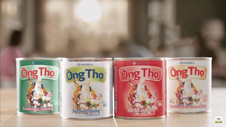 Sữa Ông Thọ là sản phẩm gắn bó với nhiều thế hệ người Việt.