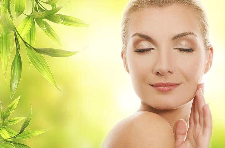Hệ tuần hoàn hoạt động tốt giúp da mặt hồng hào, sáng mịn
