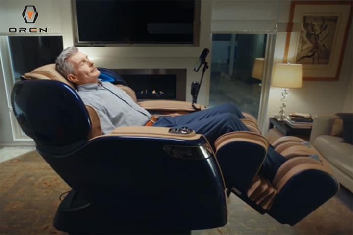Ghế massage là sản phẩm chăm sóc sức khỏe tại nhà tốt nhất hiện nay