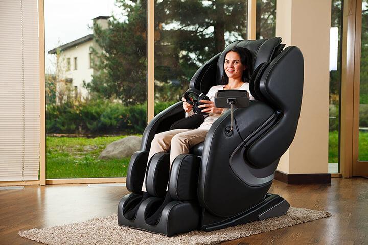 Sử dụng ghế massage mỗi ngày giúp cải thiện sức khỏe toàn diện cho người cao tuổi